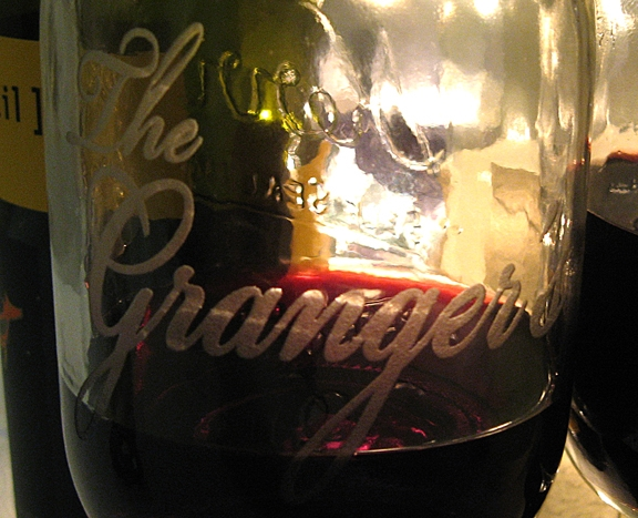 Cajun Wine Glass with Etched Name - AIM2057Name