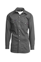 100% Cotton FR Welder Shirt with Snaps