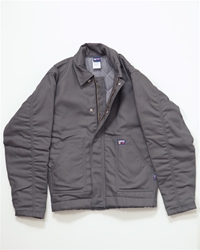 Insulated Grey 12oz. Flame Resistant Jacket